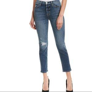 $235 NWT Hudson jean high rise holly crop skinny